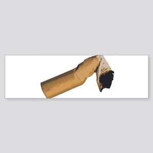 Cigarette Butt Bumper Sticker