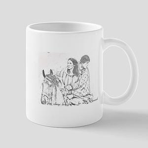 Jamie & Claire Forever Sketch Mugs