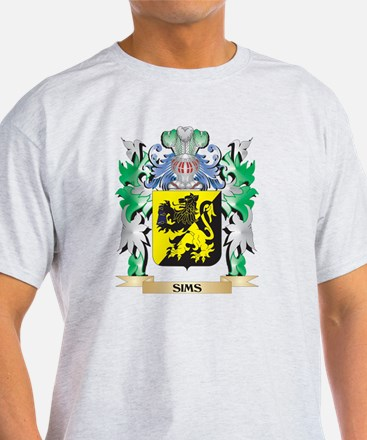Sims Coat of Arms - Family Crest T-Shirt