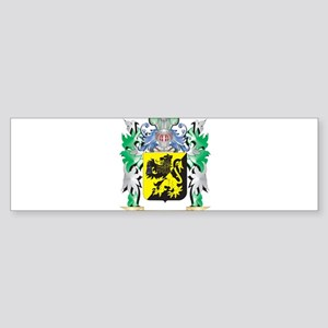 Sims Coat of Arms - Family Crest Bumper Sticker