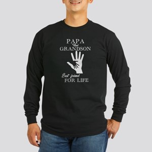 Papa And Grandson Long Sleeve T-Shirt
