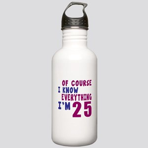 I Know Everythig I Am Stainless Water Bottle 1.0L