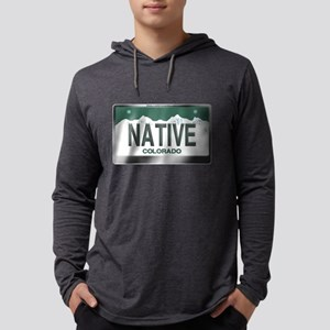 """NATIVE"" Colorado License Plat Long Sleeve T-Shirt"