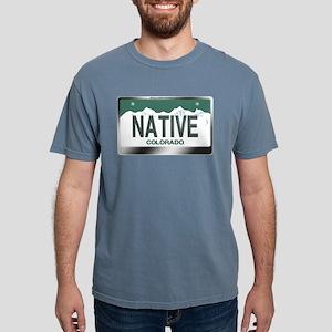 """NATIVE"" Colorado License Plate T-Shirt"