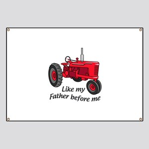 Like My Father Banner