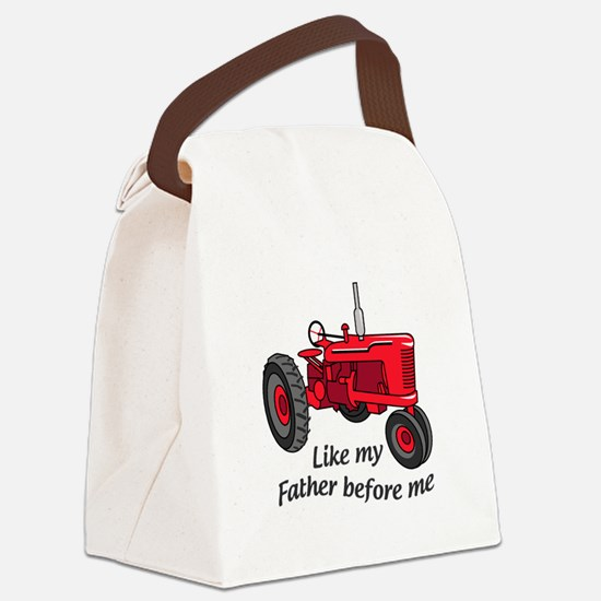 Like My Father Canvas Lunch Bag