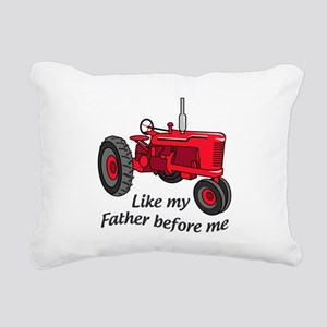 Like My Father Rectangular Canvas Pillow