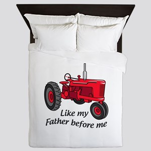 Like My Father Queen Duvet