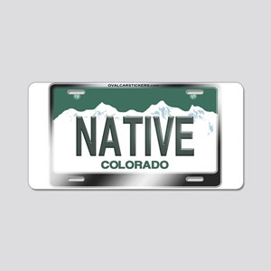 colorado_licenseplates-nati Aluminum License Plate