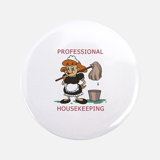 Professional Housekeeping Button