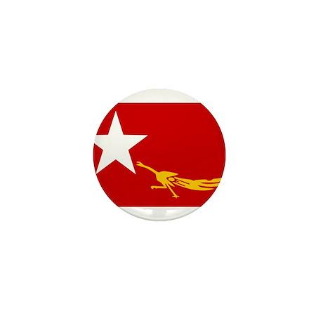 NLD BURMA FLAG Mini Button (10 pack)