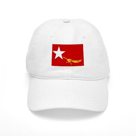 NLD BURMA FLAG Cap