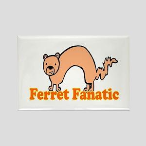 Ferret Fan Rectangle Magnet