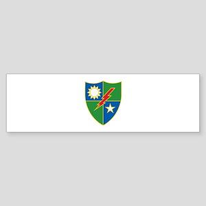 Army Ranger Crest Bumper Sticker