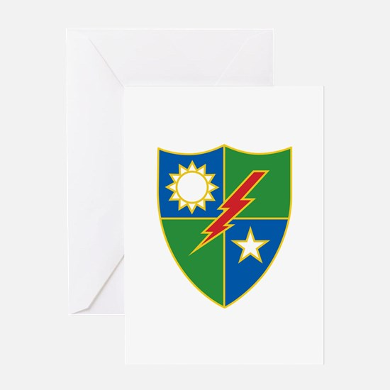 Army Ranger Crest Greeting Cards