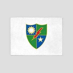 Army Ranger Crest 5'x7'Area Rug