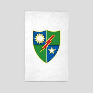 Army Ranger Crest Area Rug