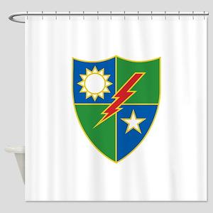 Army Ranger Crest Shower Curtain
