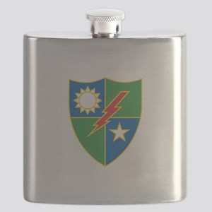 Army Ranger Crest Flask
