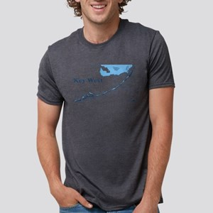Key West - Map Design. T-Shirt