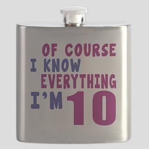 I Know Everythig I Am 10 Flask