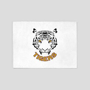 Tigers 5'x7'Area Rug