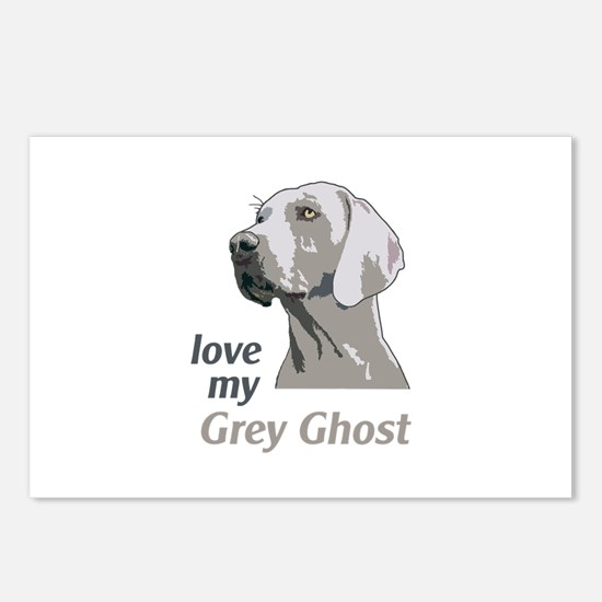 Love My Grey Ghost Postcards (Package of 8)