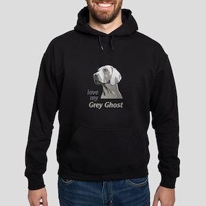 Love My Grey Ghost Hoodie