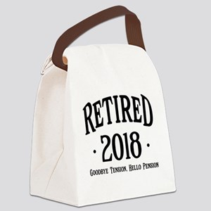 Retired 2018 Canvas Lunch Bag