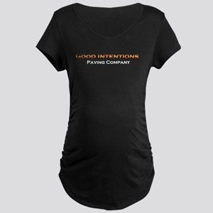 Good Intentions Maternity Black T-Shirt