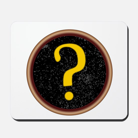 Question Mark Key Mousepad
