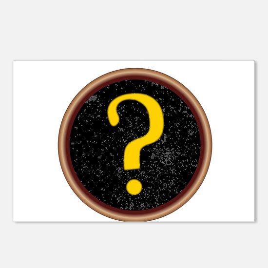 Question Mark Key Postcards (Package of 8)