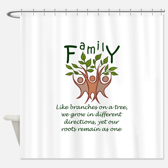 Roots Remain As One Shower Curtain