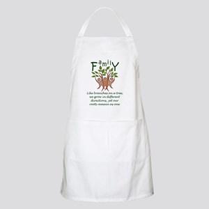 Roots Remain As One Apron