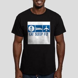 Eat Sleep Fly Mens Shir T-Shirt