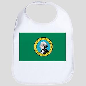 Flag of Washington State Bib