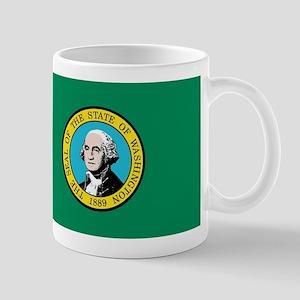 Flag of Washington State Mugs