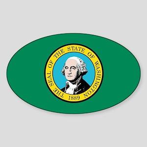 Flag of Washington State Sticker