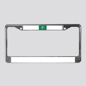 Flag of Washington State License Plate Frame