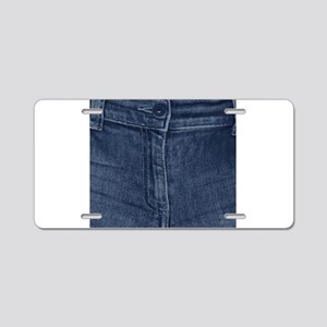 Jean Zipper Aluminum License Plate