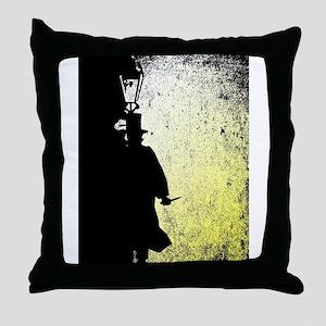 Ripper Grunge Throw Pillow