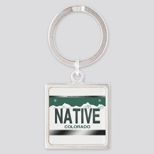 """NATIVE"" Colorado License Plate Keychains"