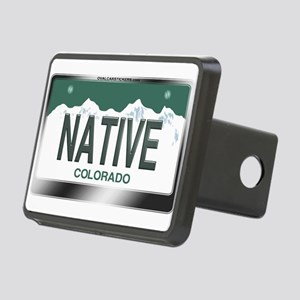 colorado_licenseplates-nat Rectangular Hitch Cover