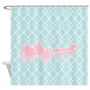 Horse And Carriage Shower Curtains