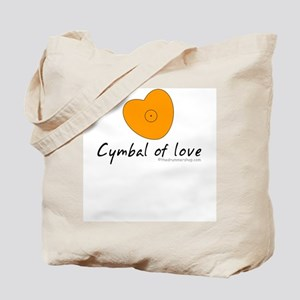 Cymbal of love : Tote Bag