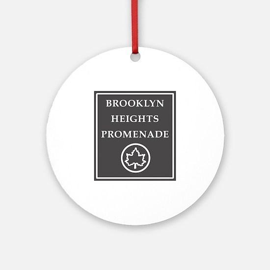 Brooklyn Heights Promenade, NYC - USA Ornament (Ro