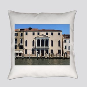Hotel In Venice On Canal Everyday Pillow
