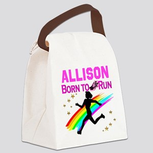 PERSONALIZE RUNNER Canvas Lunch Bag