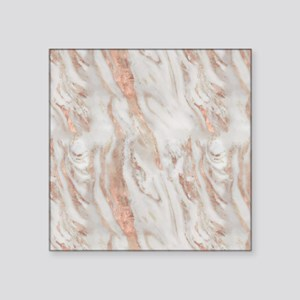 Rose Gold Marble Sticker