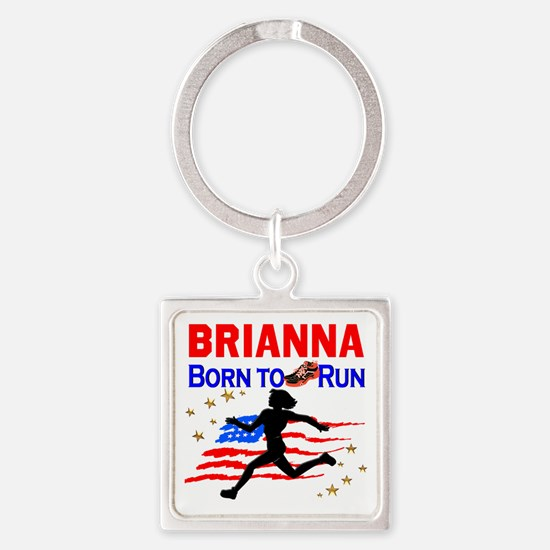 PERSONALIZE RUNNER Square Keychain